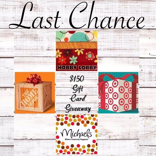 Ok y'all last chance to get in on our $150 giveaway!!! #teamridgid #wheredoyoumorph #target #homedepot #giveaway #contest #money #woodworking #pinterest #michaels #hobbylobby #denton #dentoning