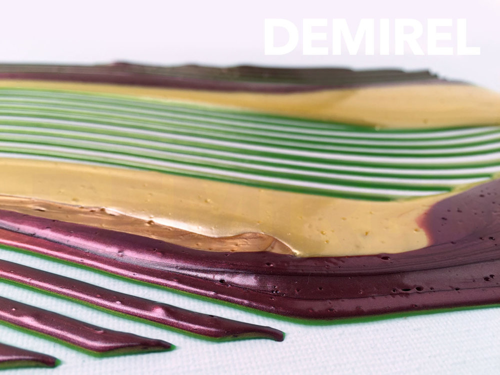 Abstract artwork B (close-up) by A. Demirel