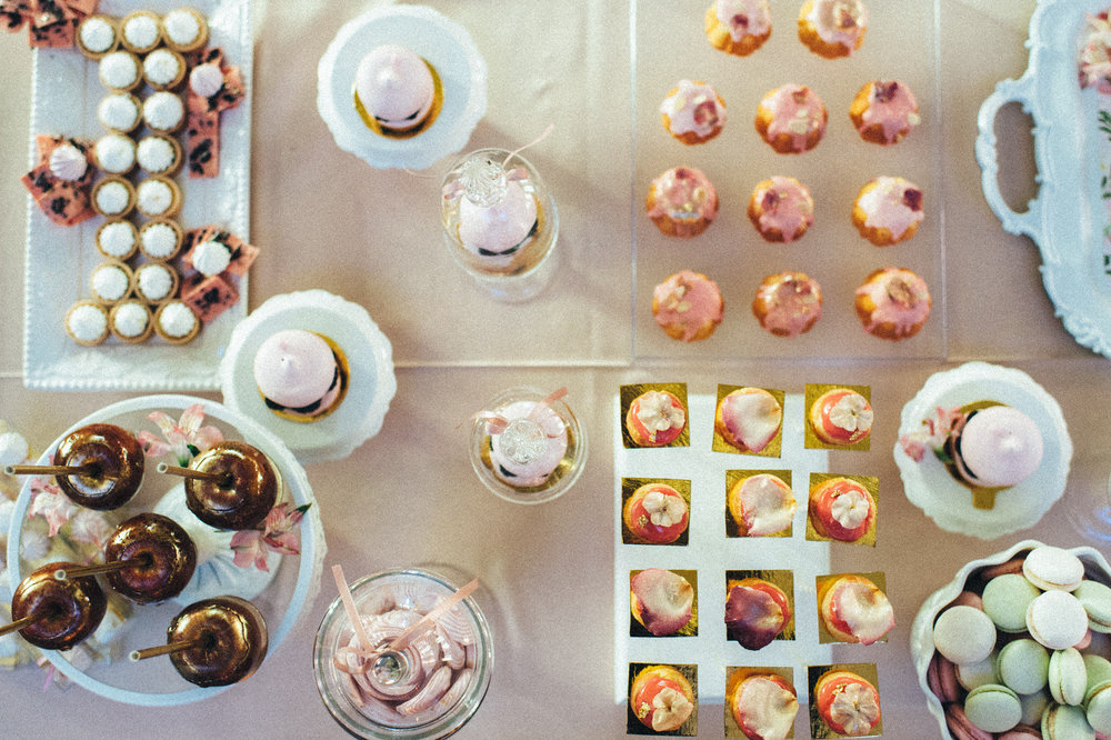 Sweets:  Nadia & Co.  | Photography:  Scarlet O'Neill