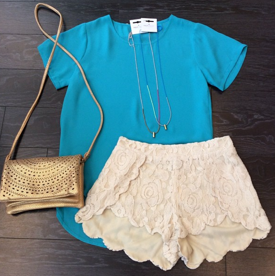 Our favorite Lacey Shorts
