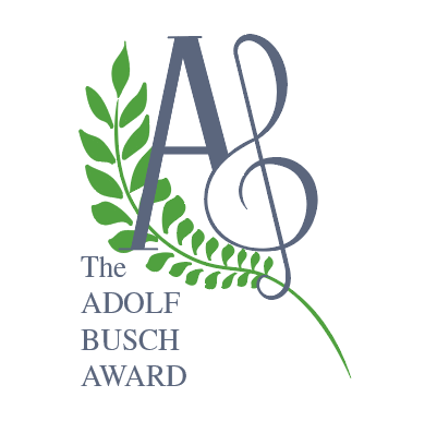 Logo design for the Adolf Busch Award, 2016