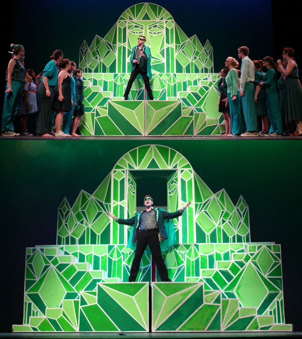 Emerald City design for the Wiz