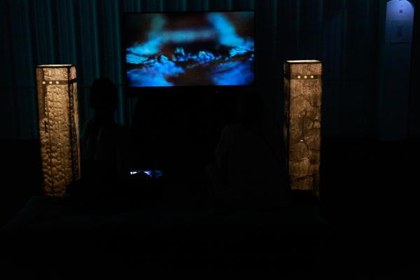 Still from Ellipsis Installation | Currents New Media Festival , Santa Fe NM 2012