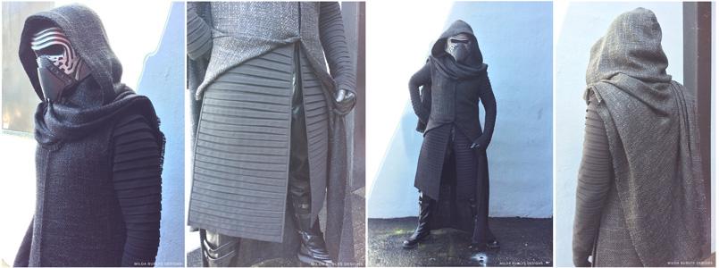 Kylo Ren Cosplay costume by Milda Bublys.