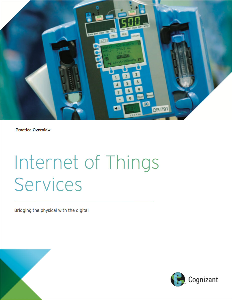 Practice Overview:  Internet of Things Services