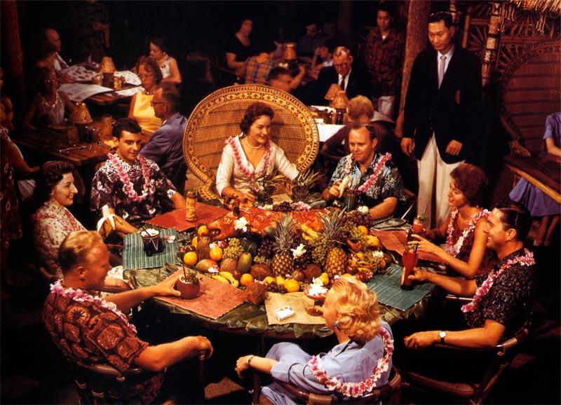 1960s tiki restaurant