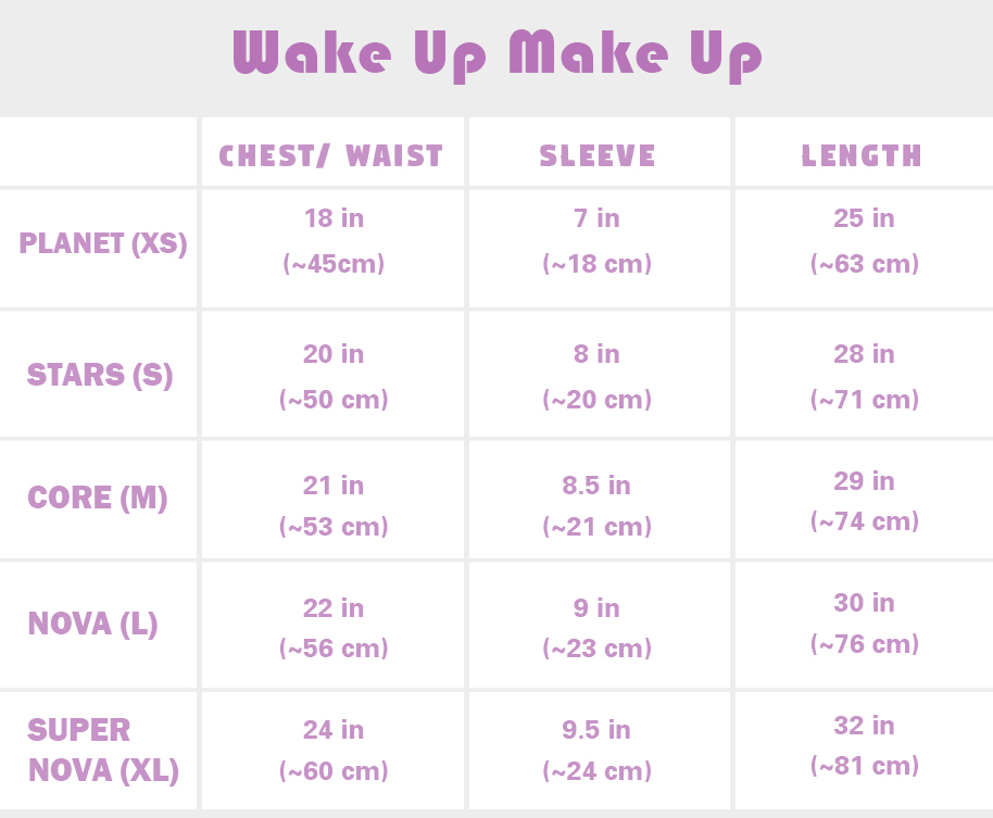 wake up make up new size card Mori Galaxy
