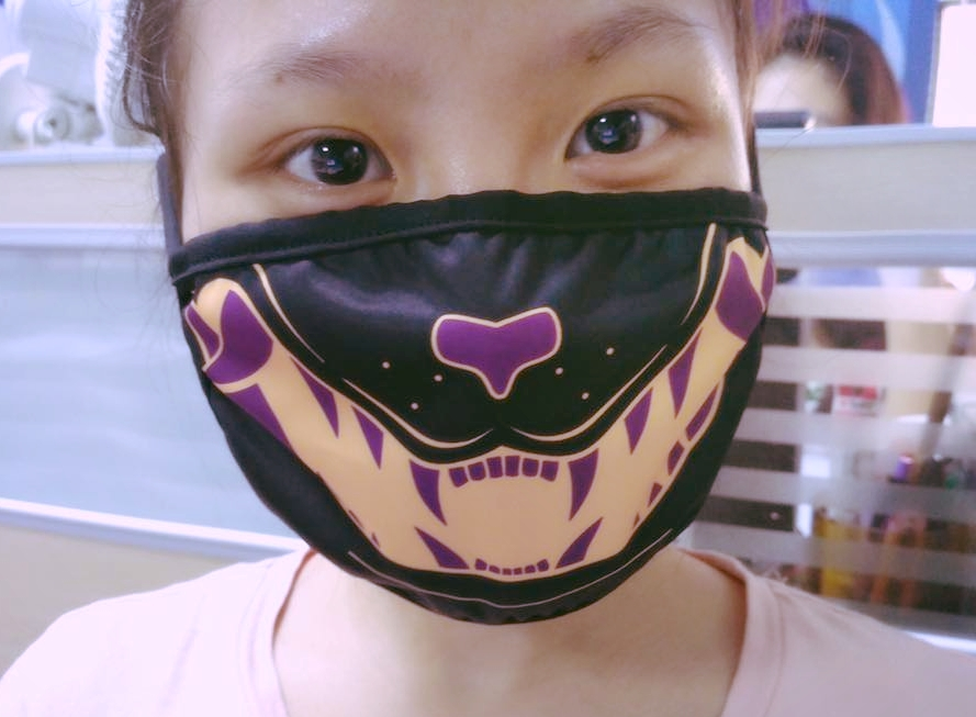 Black Neko Face Masks_Sample_MoriGalaxy_Mori_Galaxy