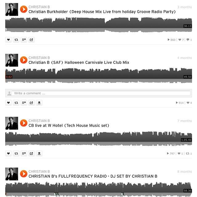 Checkout some of my live DJ sets @ Soundcloud.com/christianbdj #DjChristianb