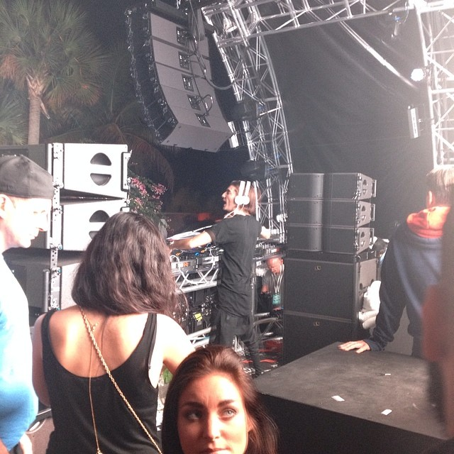 On stage with @alesso last night at the #AviciiHotel. Gotta love #MMW