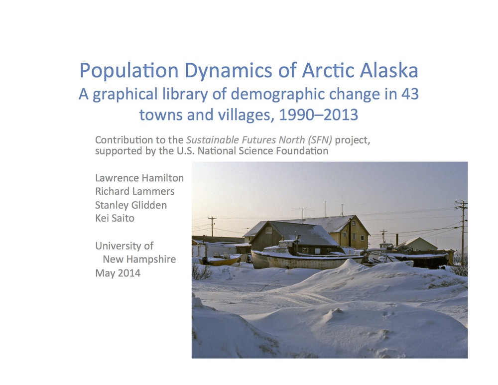 Click above to download all demographic change graphs for 43 towns and villages in Alaska from 1990-2013