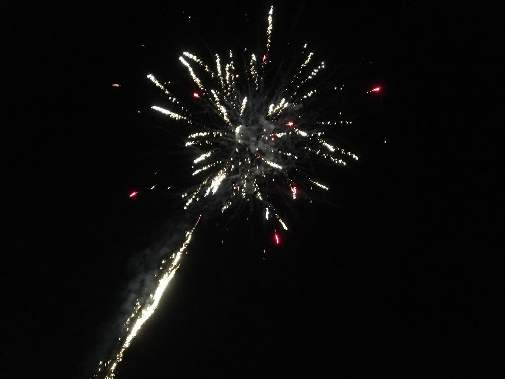 Fireworks in Czech on the 4th of July!