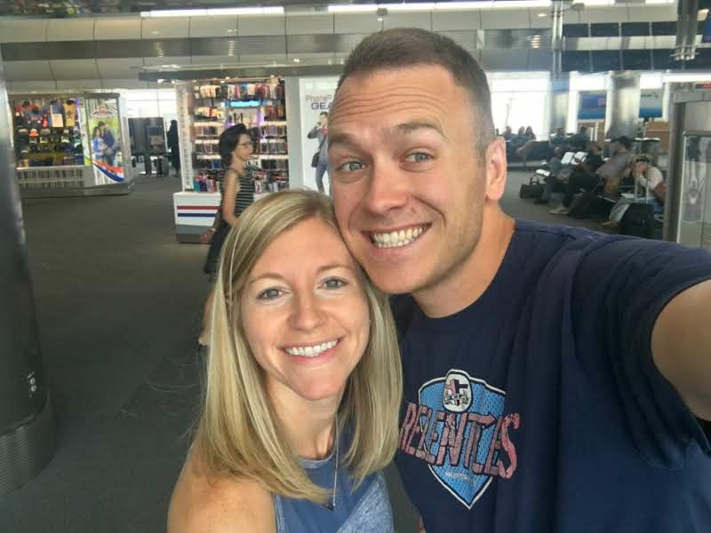 Travis and Brittany traveling to Czech