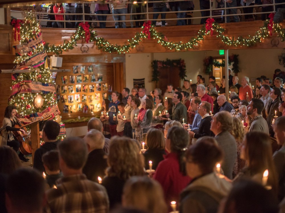 Candlelit Christmas Eve Service in Fort Collins