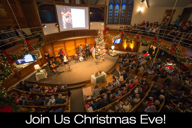 Christmas Eve Service in Old Town