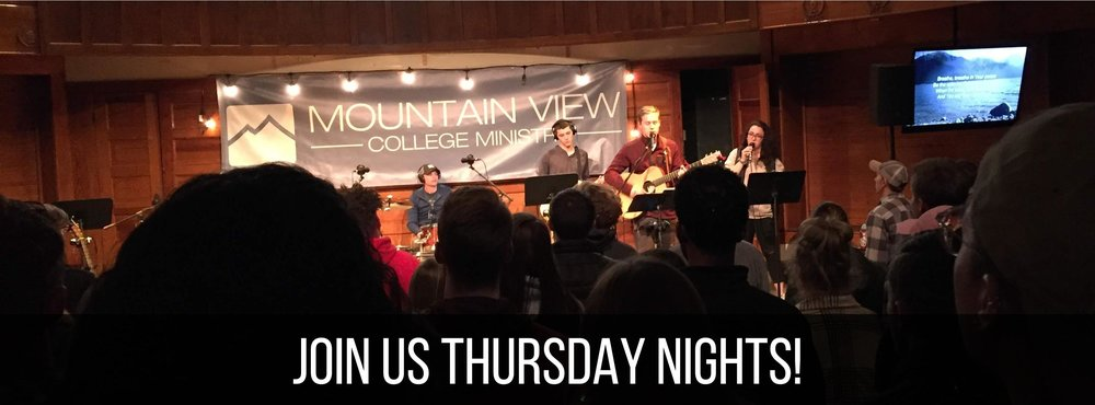 College Ministry Thursday Night Meeting