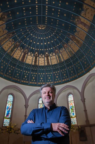 2a James MacMillan Artistic Director of The Cumnock Tryst at St John the Evangelist, Cumnock credit Richard Campbell.jpeg