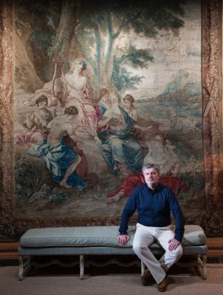 5b James MacMillan Artistic Director of The Cumnock Tryst in The Tapestry Room of Dumfries House credit Richard Campbell.jpeg