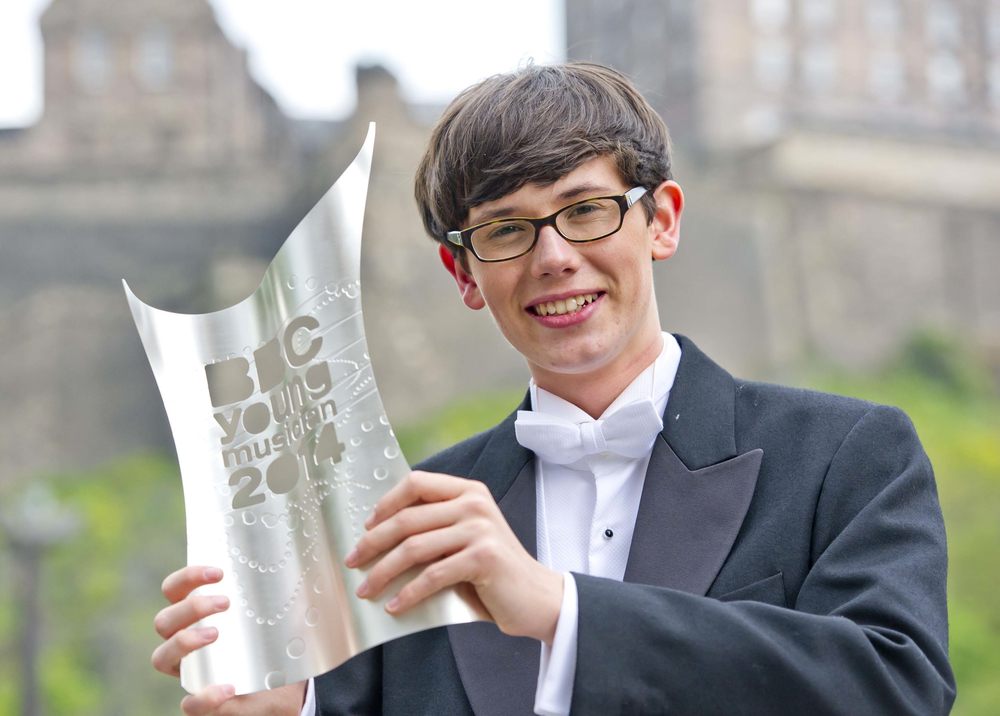 Pianist Martin James Bartlett, one of themost recentwinners of the BBC Young Musician of the Year competition
