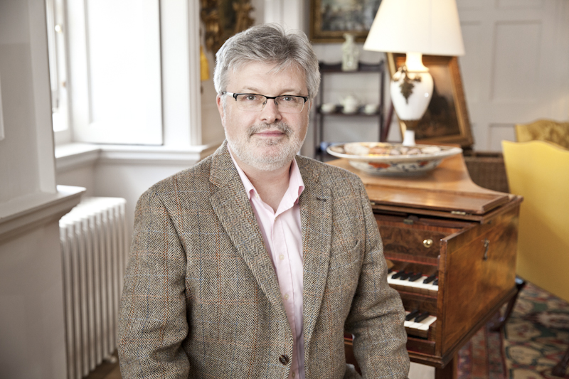 sir james macmillan CBE by robin mitchell