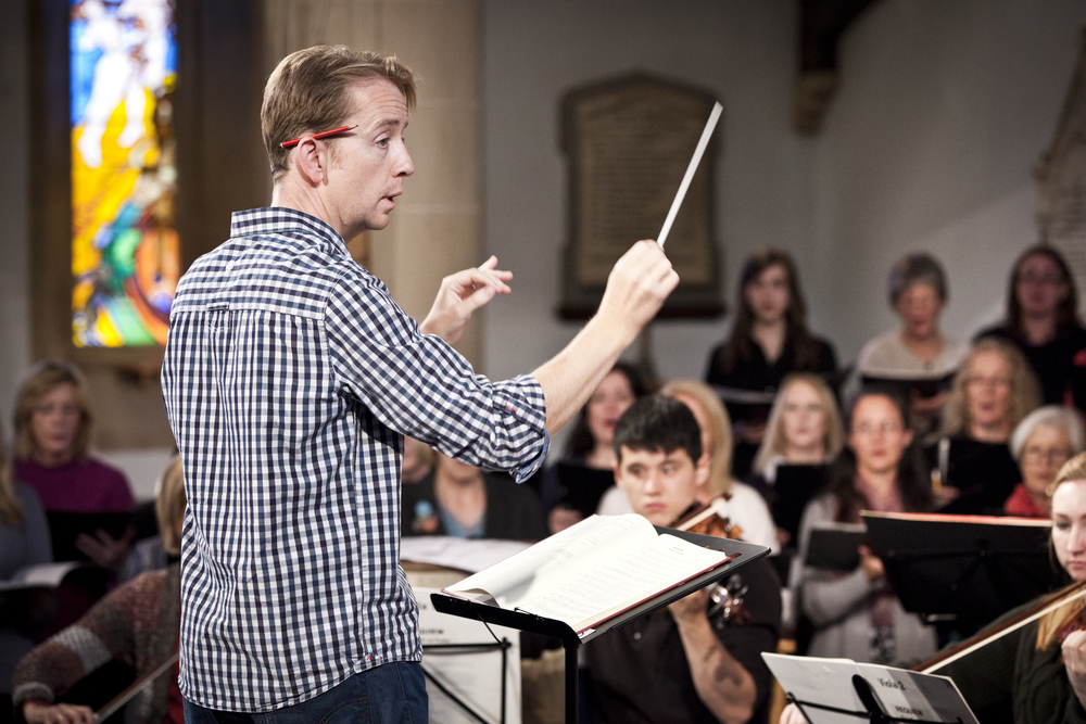 Eamonn Dougan returns to conduct the Festival Chorus