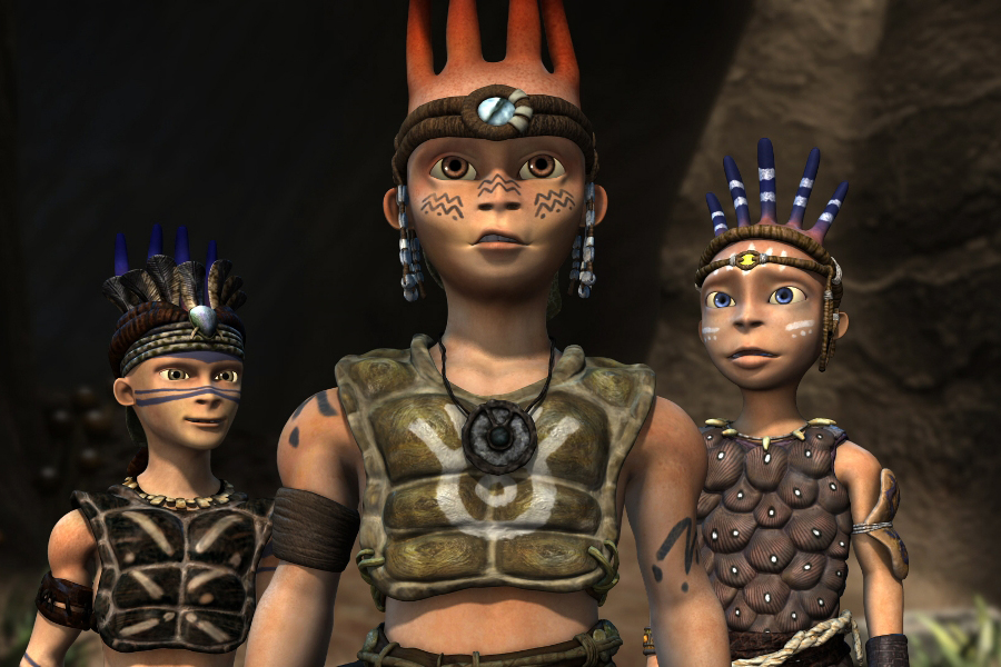Legend of Enyo was the 2010 winner of the AEAF award for Best Animation and FX in a TV series. It was also nominated for a 2010 AFI award for Best Children's Animation.