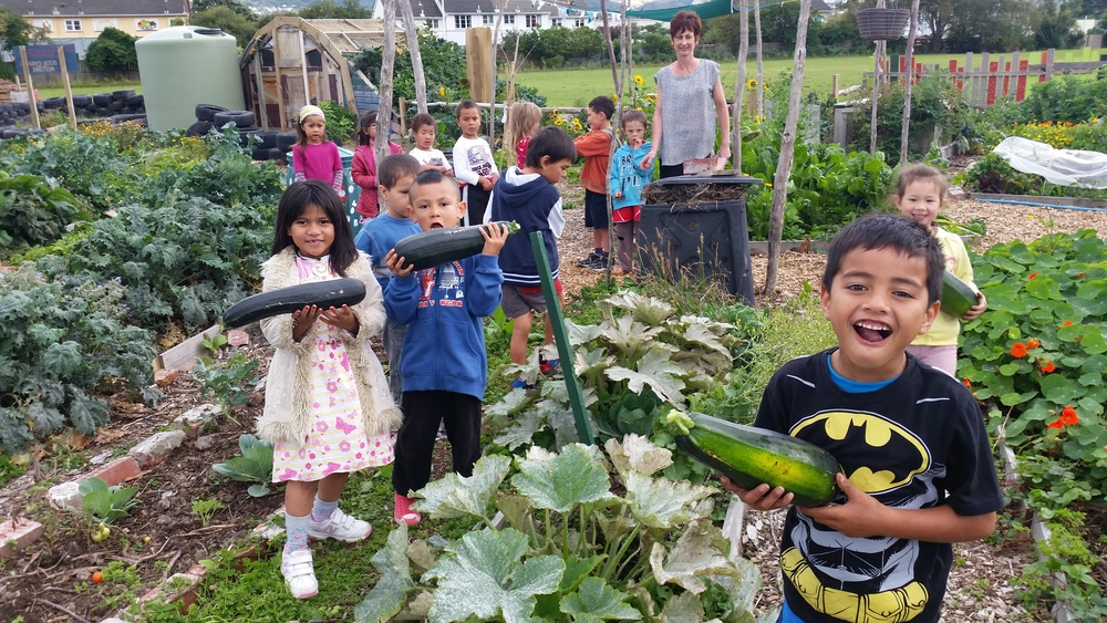 "Epuni Primary School ""Farmers"" at Common Unity Project Aotearoa"