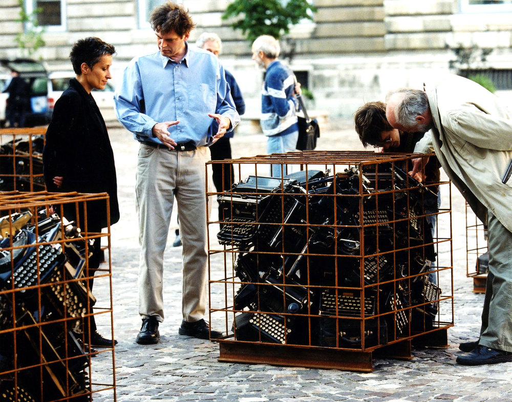 Bebelplatz, Berlin, 1999, photo by Kay Herschelmann