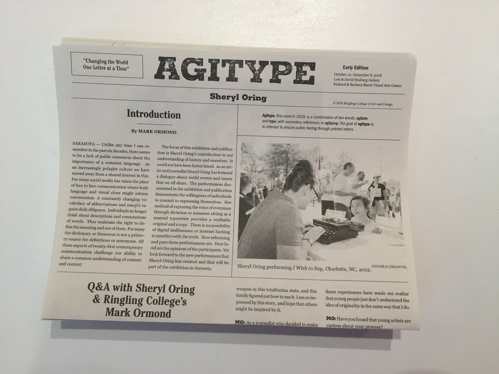 Agitype newspaper