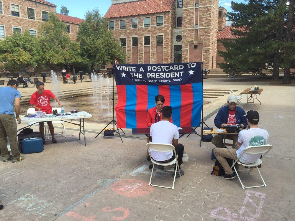 University of Colorado (photo by Harrison Dreves)