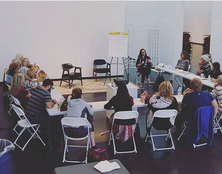 Social practice workshop at Creative Pineallas