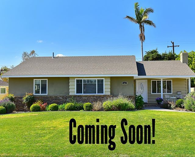 Coming Soon!  Bright and Beautiful home in Glendora.  My 3 favorite things about this house: 1. The people living in it! 2. The backyard is an entertainers dream!  3. It has a guest house with a wooden outdoor shower! 🙌🏻 4. (I know I said three, this is a bonus)The family room!!!!! #realtorlife #podleyproperties #glendora
