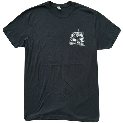 Black Crew Neck T-shirt — Ground Breaker Brewing