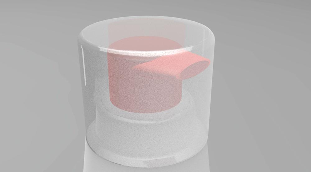 Toothpaste pump cap