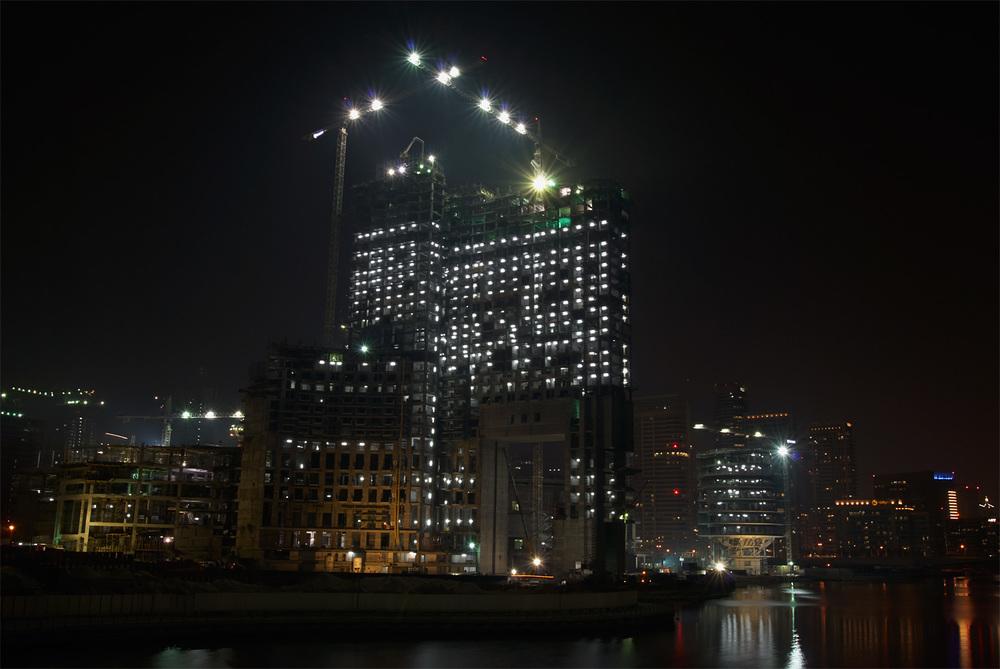 Dubai under construction