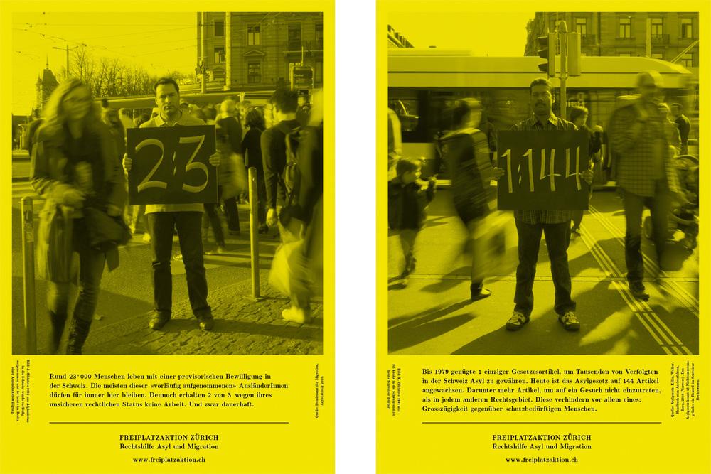 Freiplatzaktion Zürich - Campaign