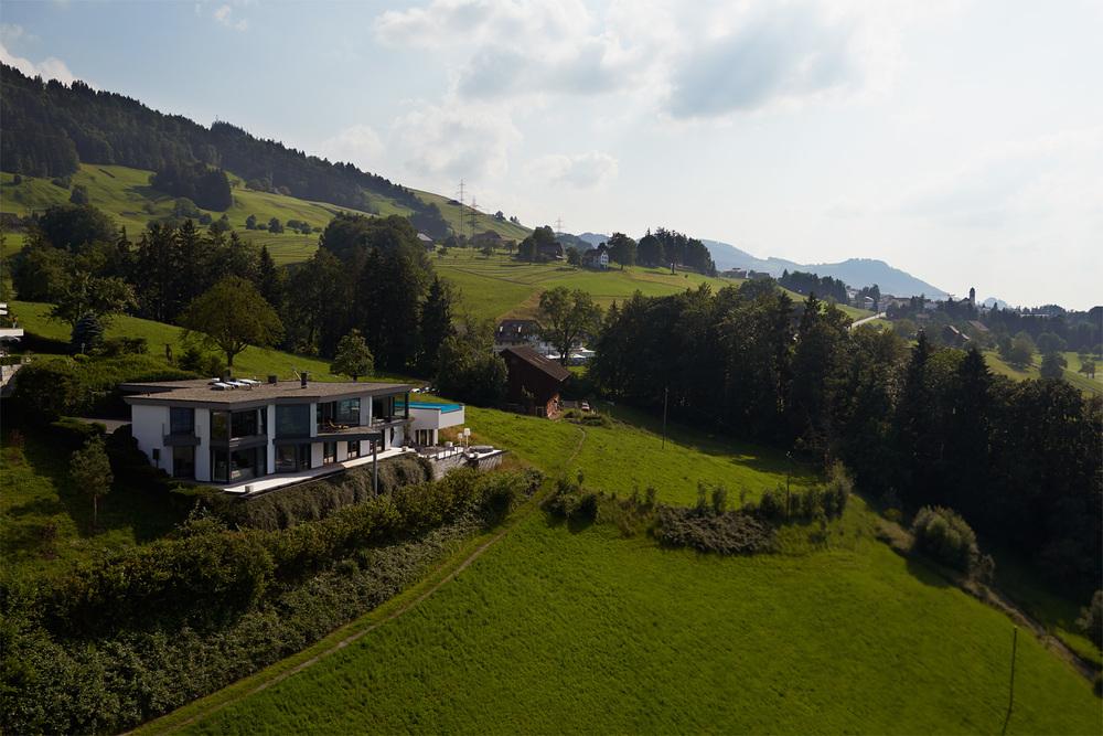Villa Feusisberg - Bildband zur Verkaufsförderung