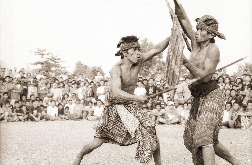 Indonesian Stick Fighting