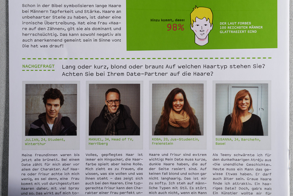 Bayer/Priorin - HairMail Magazin 2013