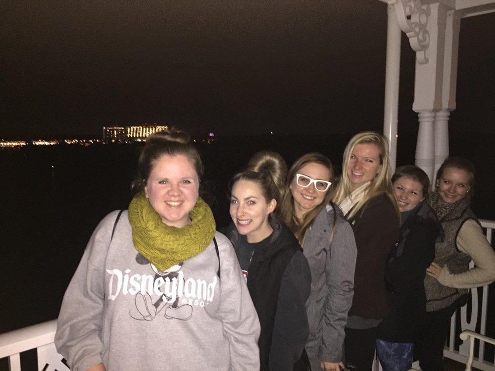 The girls (left to right): Myself, Kacy, Micaela, Nicole, Shannon, and Natasha.