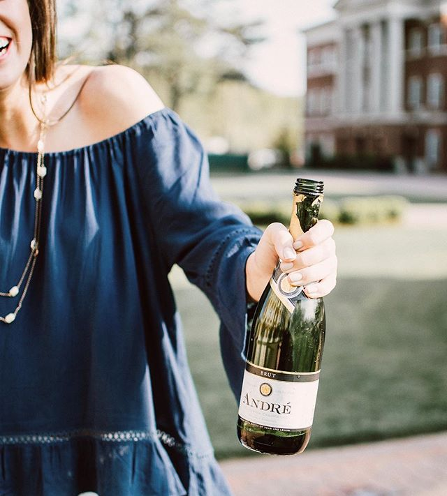 Graduation + celebration (but still ballin' on a budget, we're not done with college yet) 🎉🍾