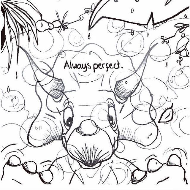 Working on the lines for the Taonosaurus page 2. The patterns raindrops make in water has always captured me. . . . #artistsoninstagram #taoism #taonosaurus #ukillustrator #illustratorsireland #comicart #comicbookart