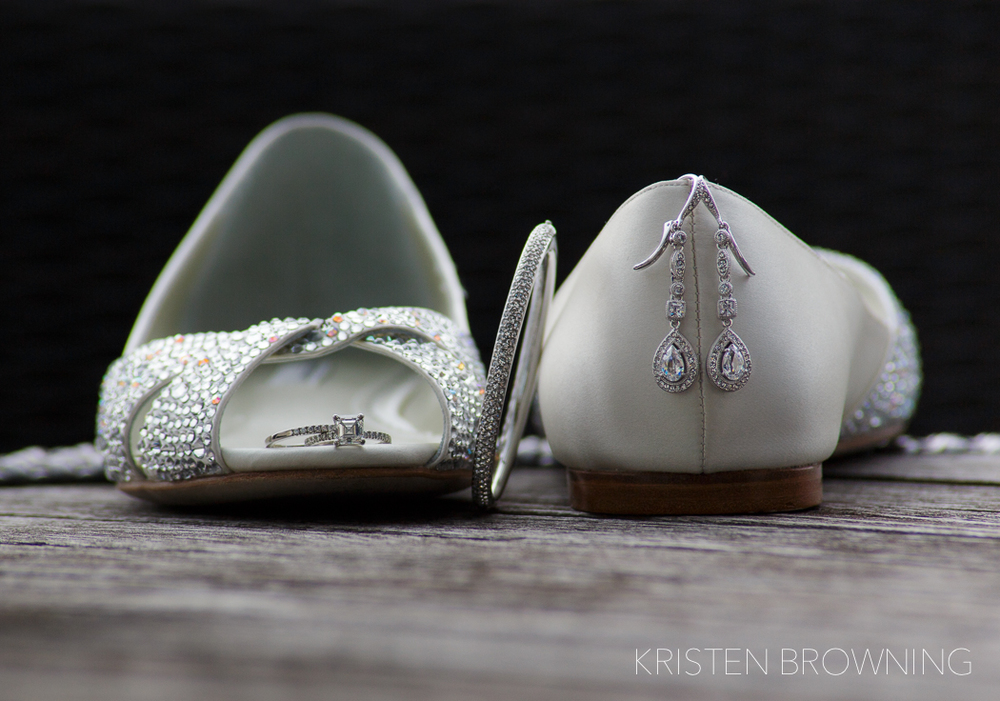 Loved her peep toe sequined shoes! Thank you to my lovely sister in law Kristy for helping me style this shot!