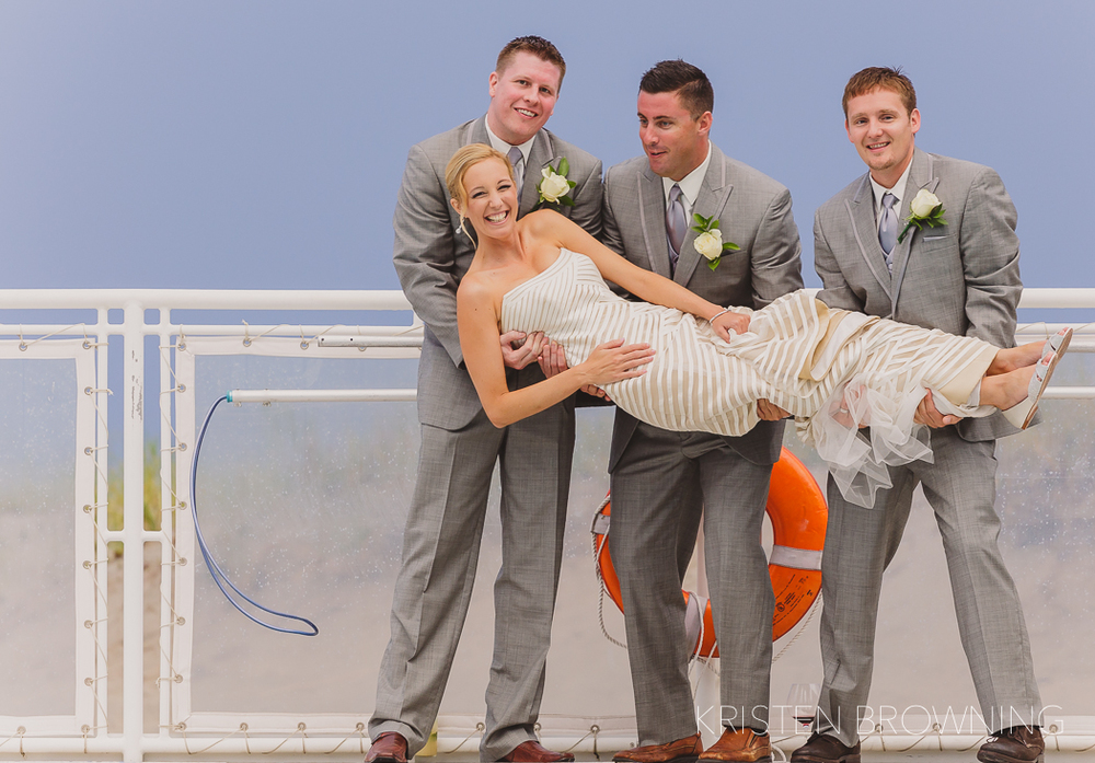 "This is how groomsmen ""pose"" for a photo!"