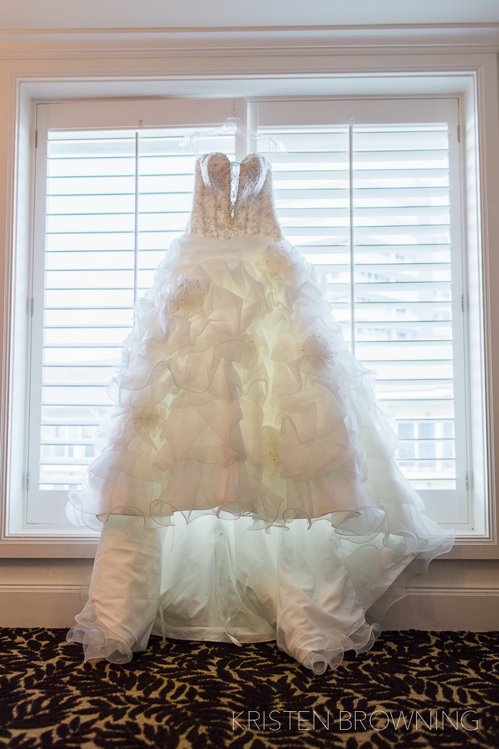 Such a beautiful dress to photograph...