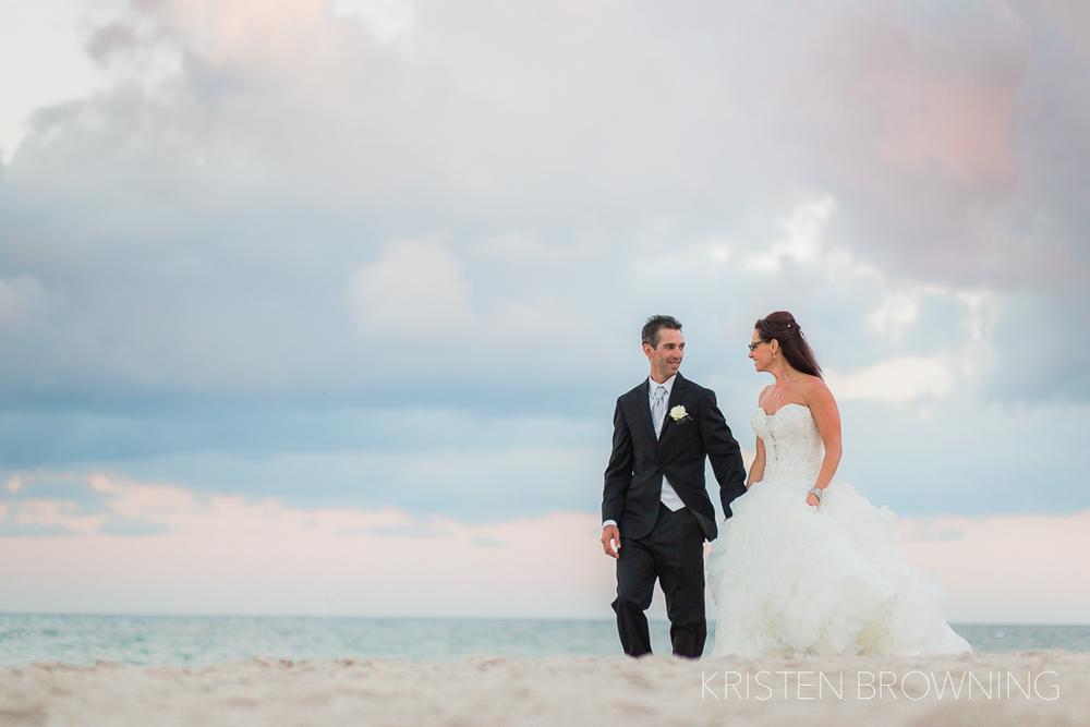 The sky couldn't have been anymore beautiful! And the bride couldn't have been anymore gorgeous!!
