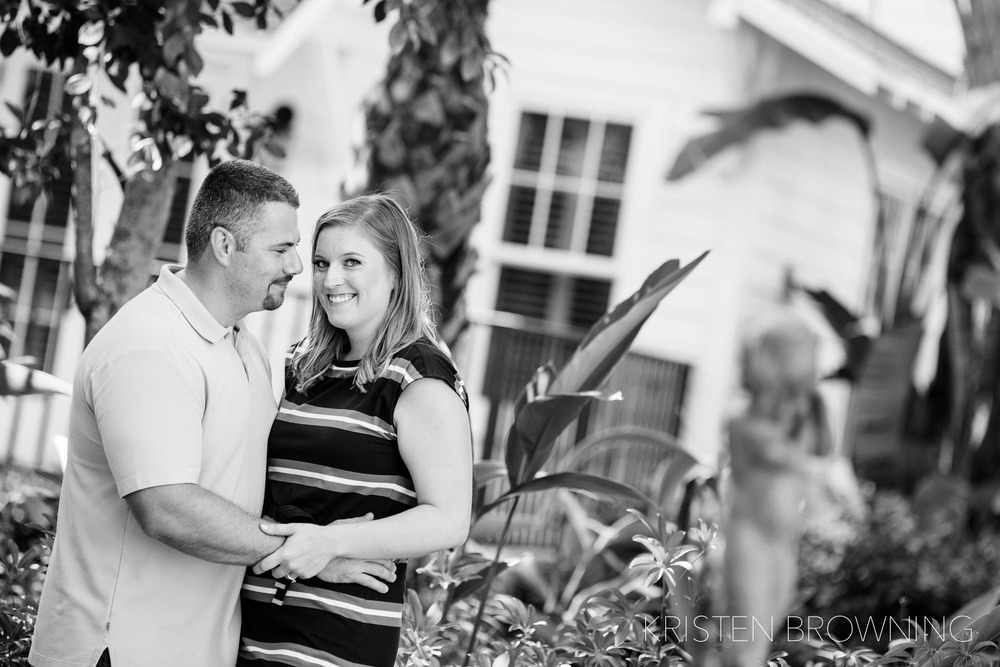 jupiter-island-engagment-photos-black-and-white-photography