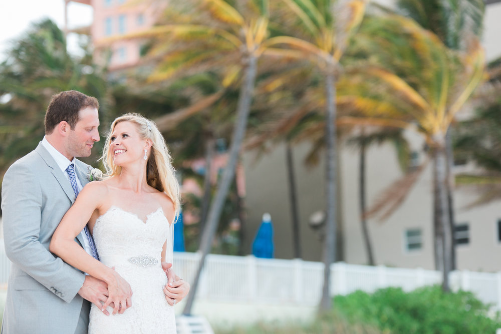 Pelican beach wedding