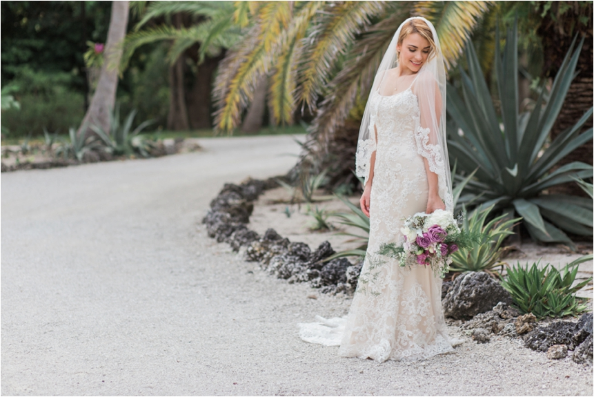 The sun was well hidden from an overcast sky and it was late in the evening, but this was a perfect place for Bree's bridal portraits, a HUGE white natural reflector there with the gravel!