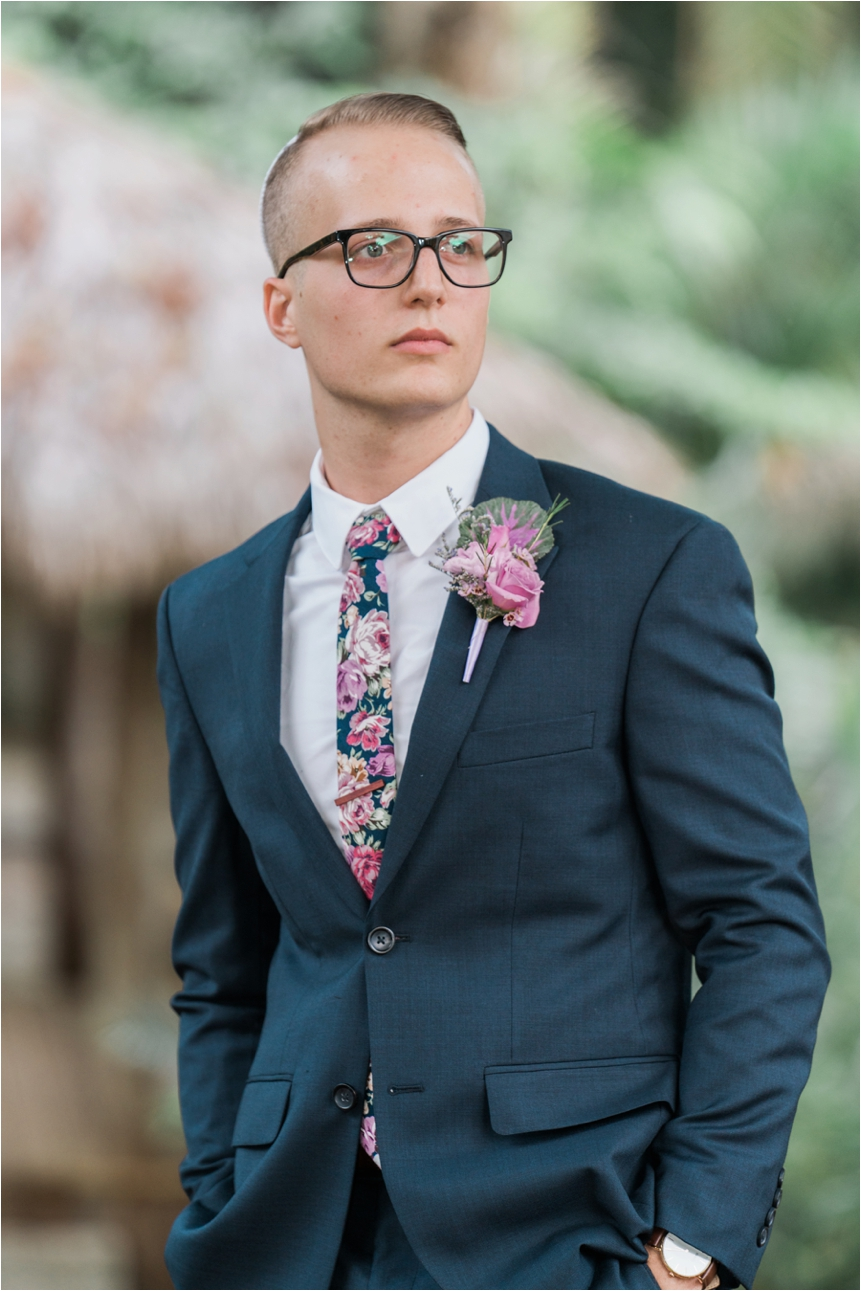 One of the best groom portraits, captured by Frank!